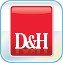 D&H App for iPhone ®